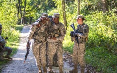 ROTC fall training