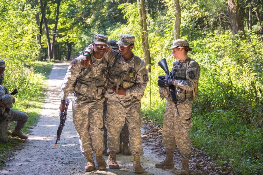ROTC fall training