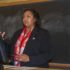 Dione D. Sommerville, current vice president of student affairs at Bloomberg University of Pennsylvania, spoke at an open forum April 14 in Sabin Hall