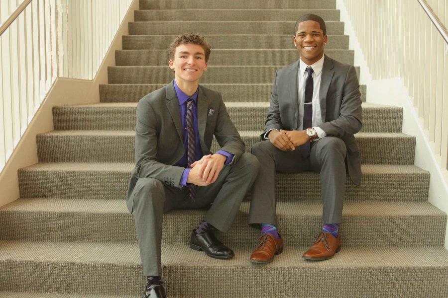 Jamal White and Tristan Bernhard