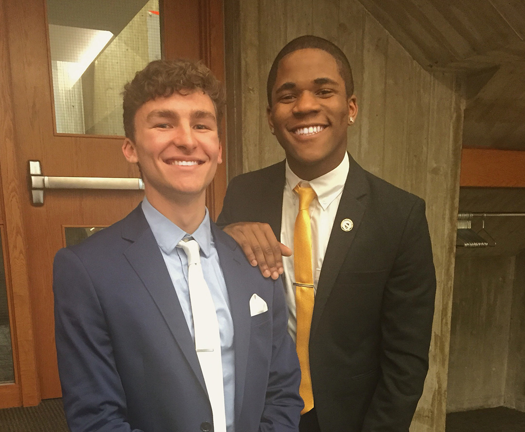 Now Introducing: Jamal & Tristan- Pres & Vice Pres
