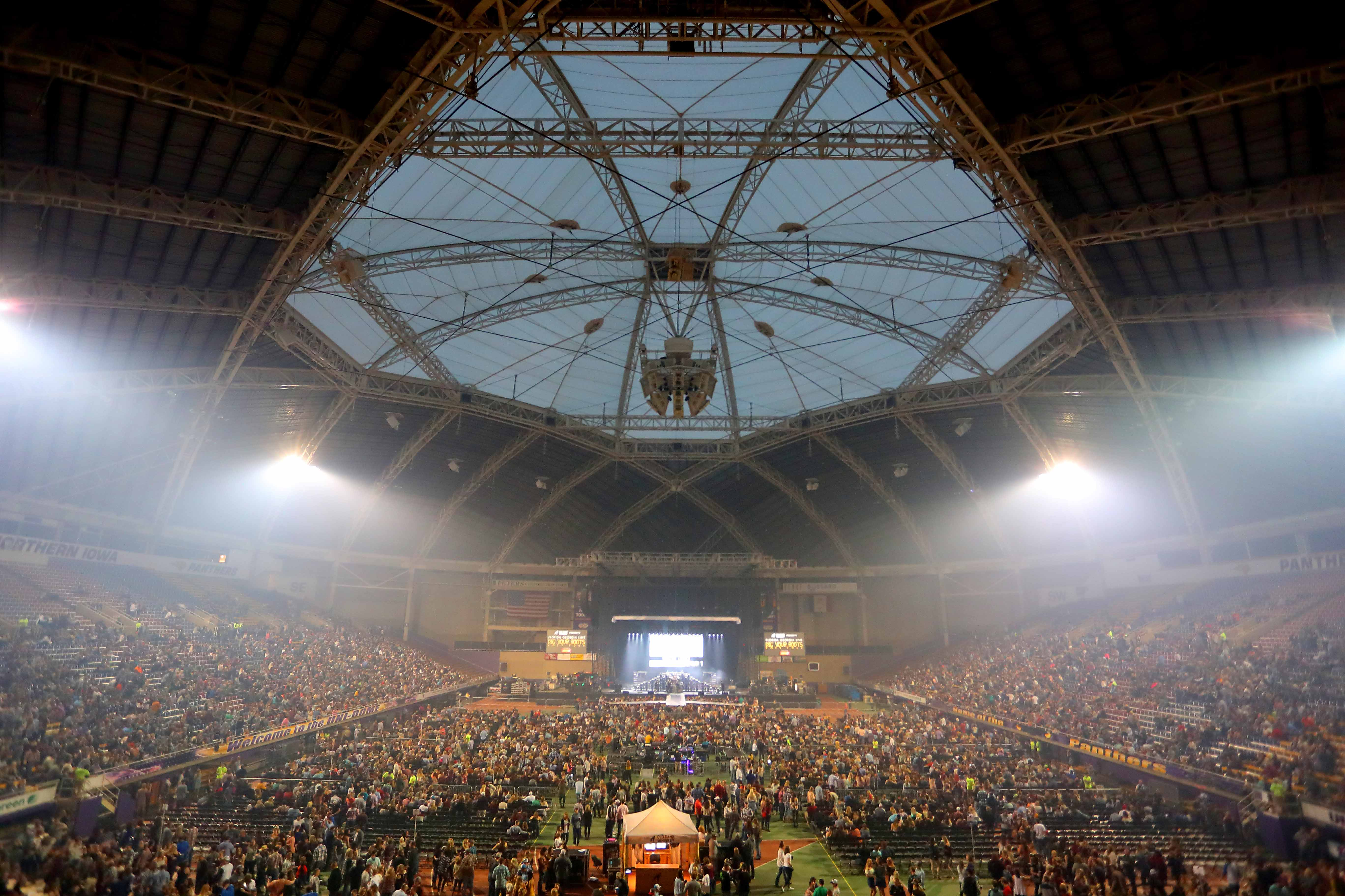 Florida Georgia Line is not the first big name to come to the UNI-Dome, with Luke Bryan's tour stopping at UNI last year.