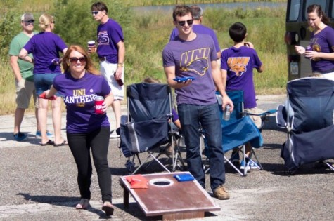 Panther pride at Homecoming tailgate