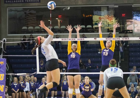 UNI soars over Evansville, falls to SIU over weekend