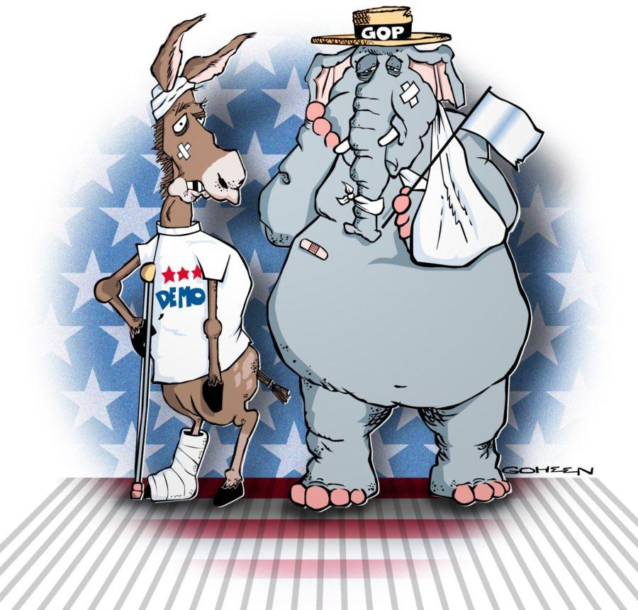Both Democratic and Republican Presidential nominees face historically low favorability ratings from potential voters. Yet, Baxter argues sitting on the sidelines is not an option.
