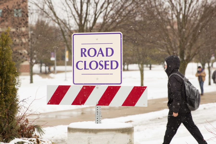 The corner of Ohio Street and 27th Street was closed this past fall in an effort to increase pedestrian safety