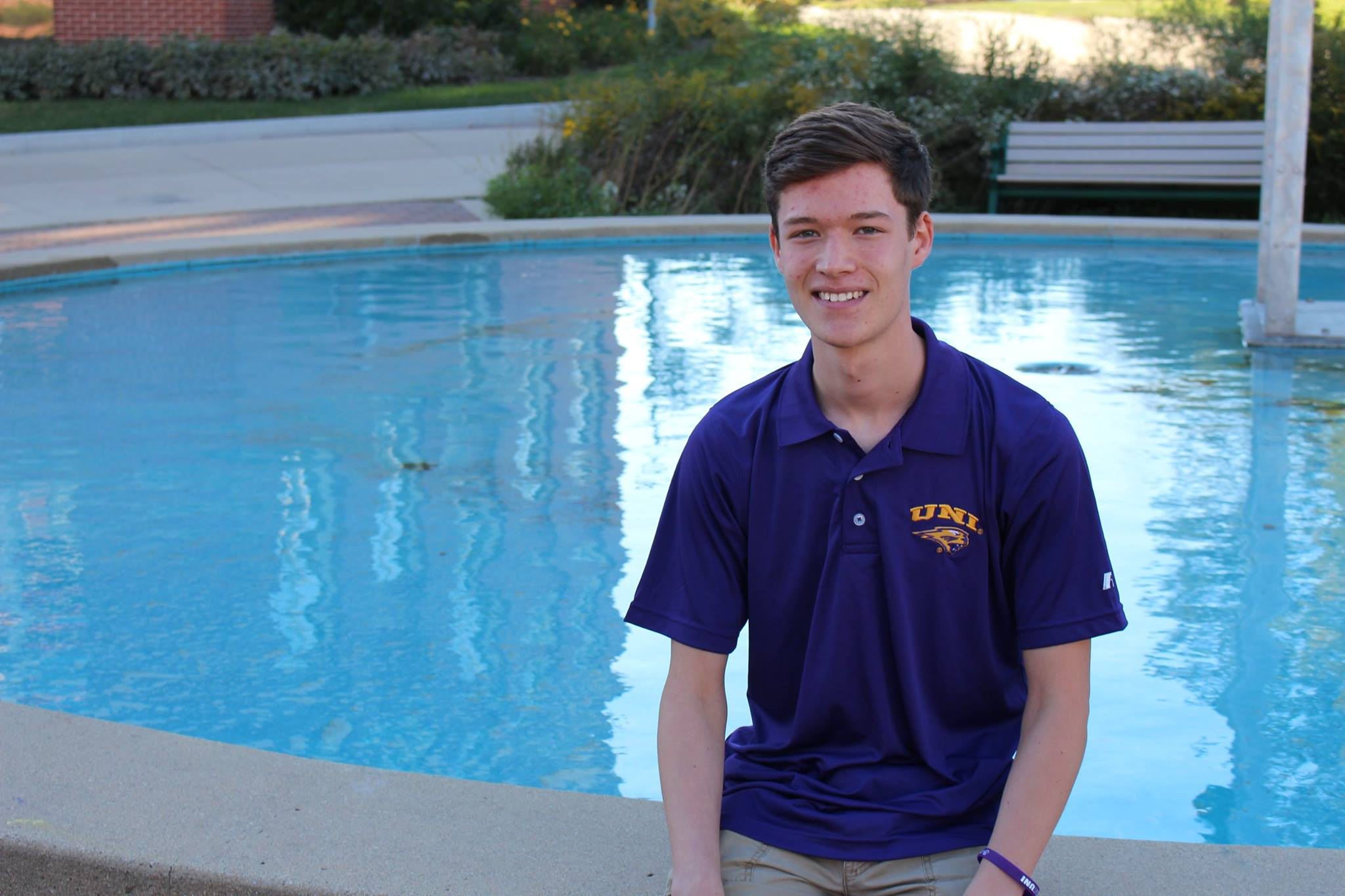 Cedar Falls City Council is expected to approve Cade Olmstead (pictured) as the student liaison to the council.