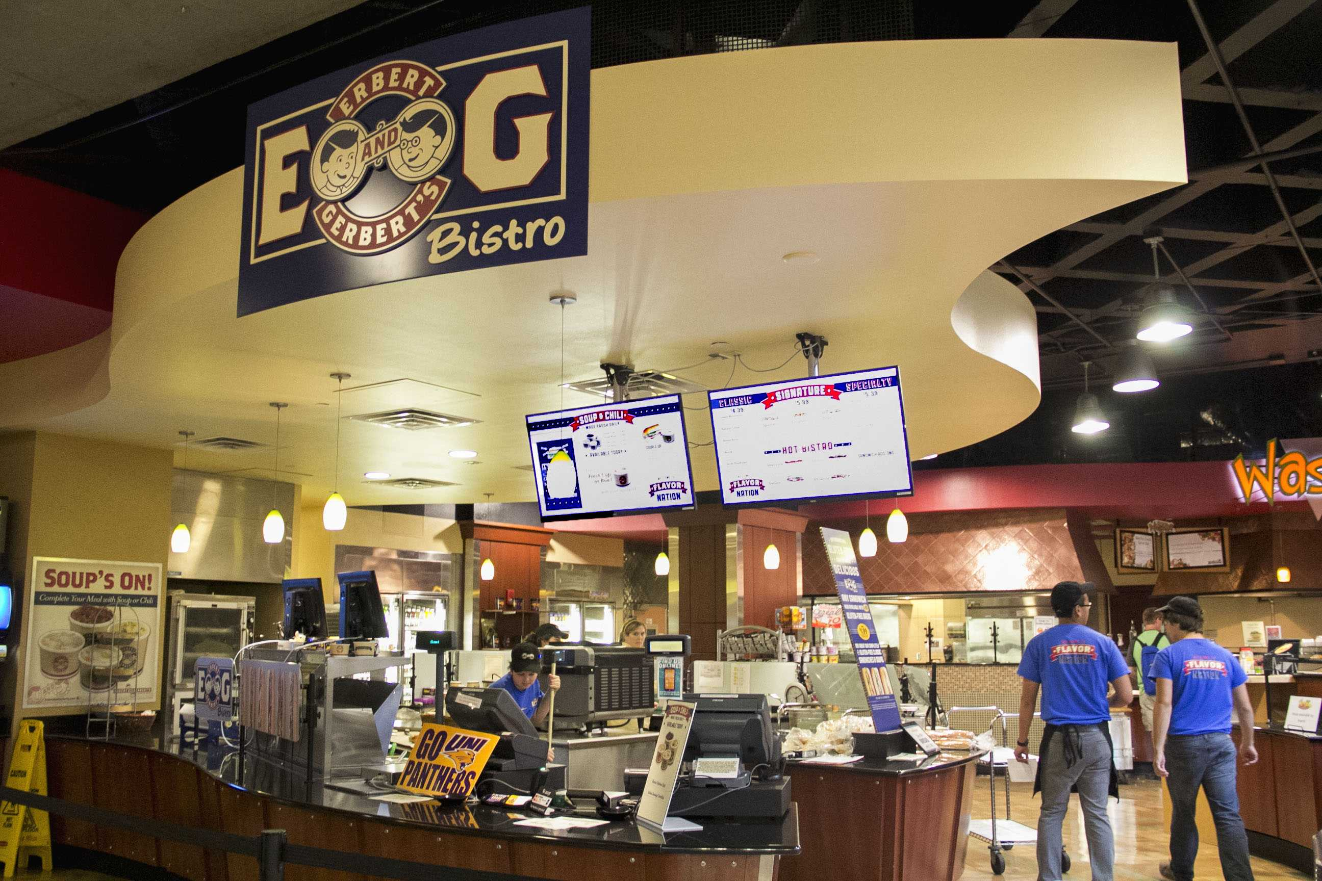 The Erbert and Gerbert's Bistro, located in the Maucker Union, will soon be offering a UNI-specific sandwich, dubbed the