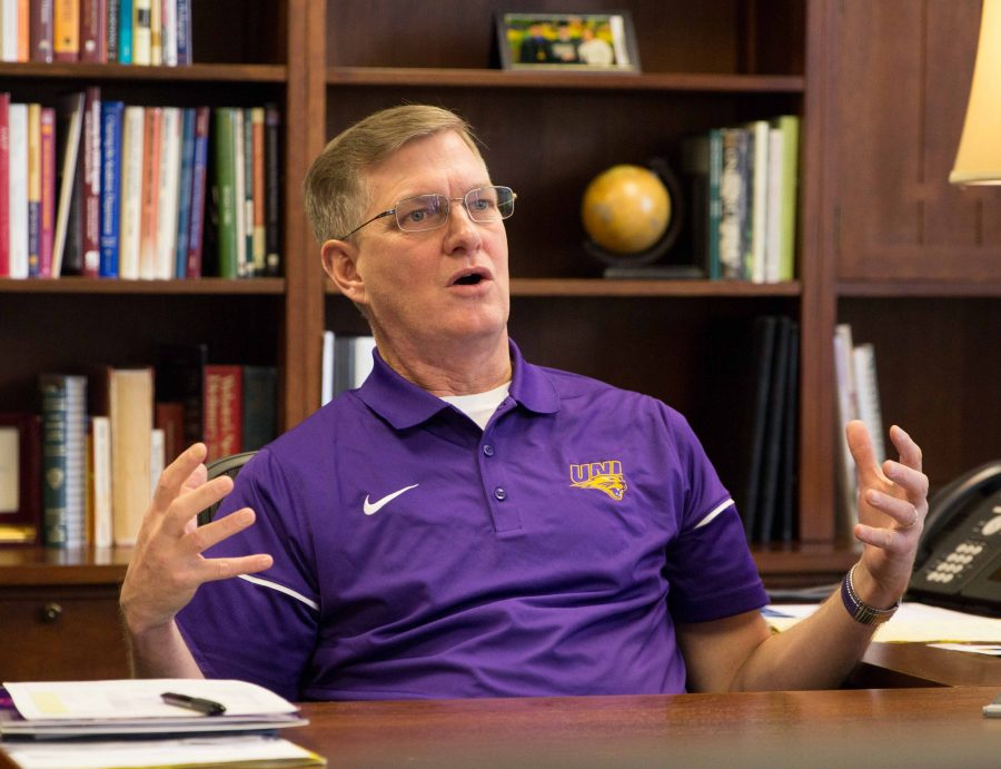 President Mark Nook has proposed UNI's budget for the next fiscal year. Nook plans on maximizing how the university invests its resources.