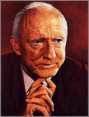 US Supreme Court Justice Hugo Black served on the court from 1937 to 1971.