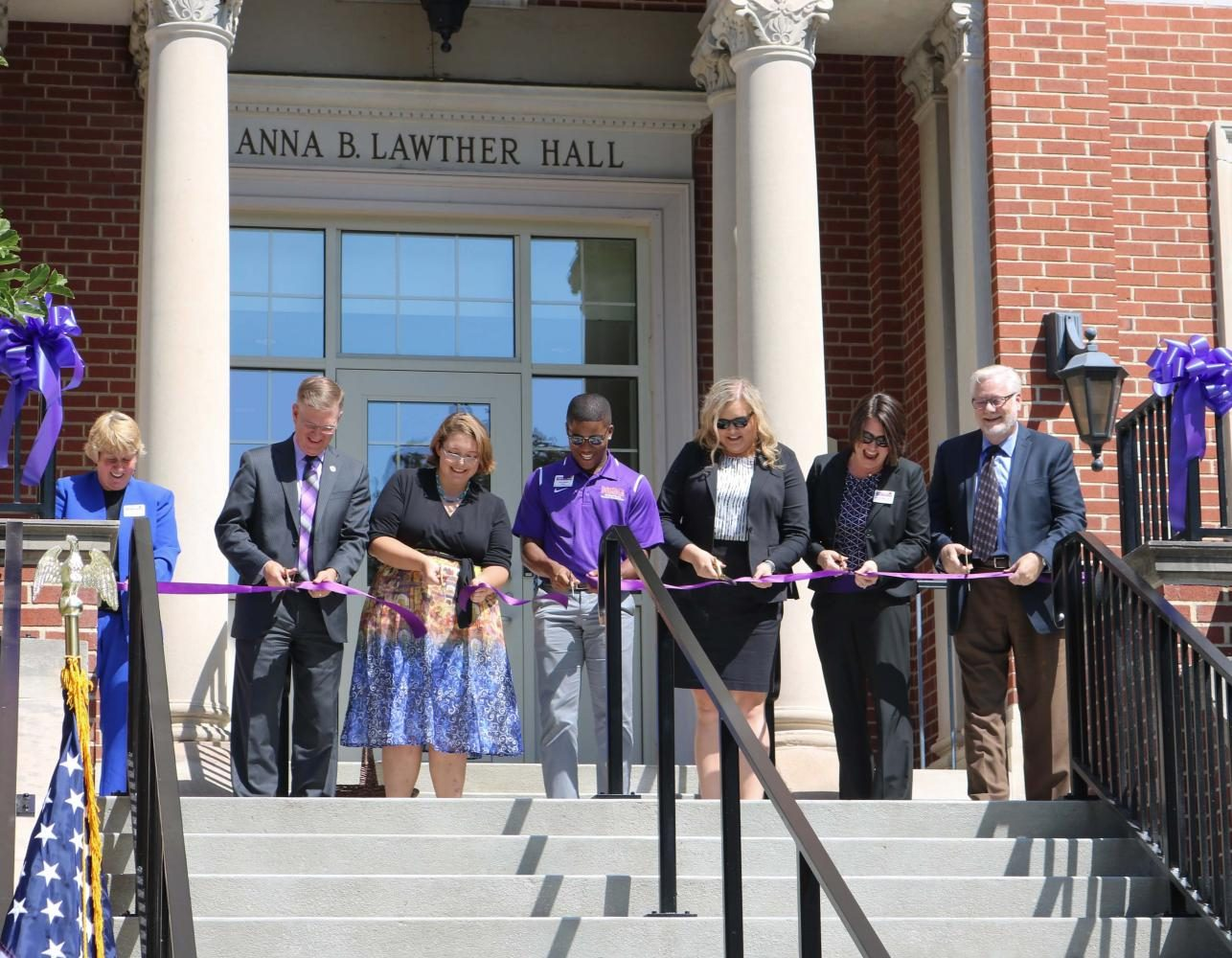 PANTHER PORTRAIT: Rededication Ceremony, Lawther Hall