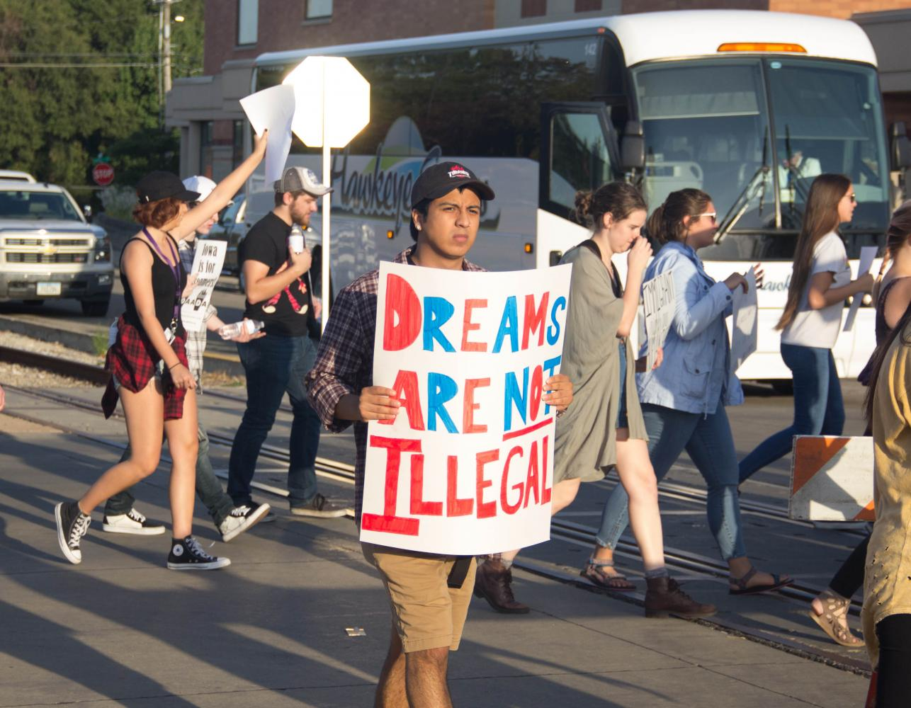 Opinion columnist responds to a previous column about the rescinding of DACA, referring to deporrtations as