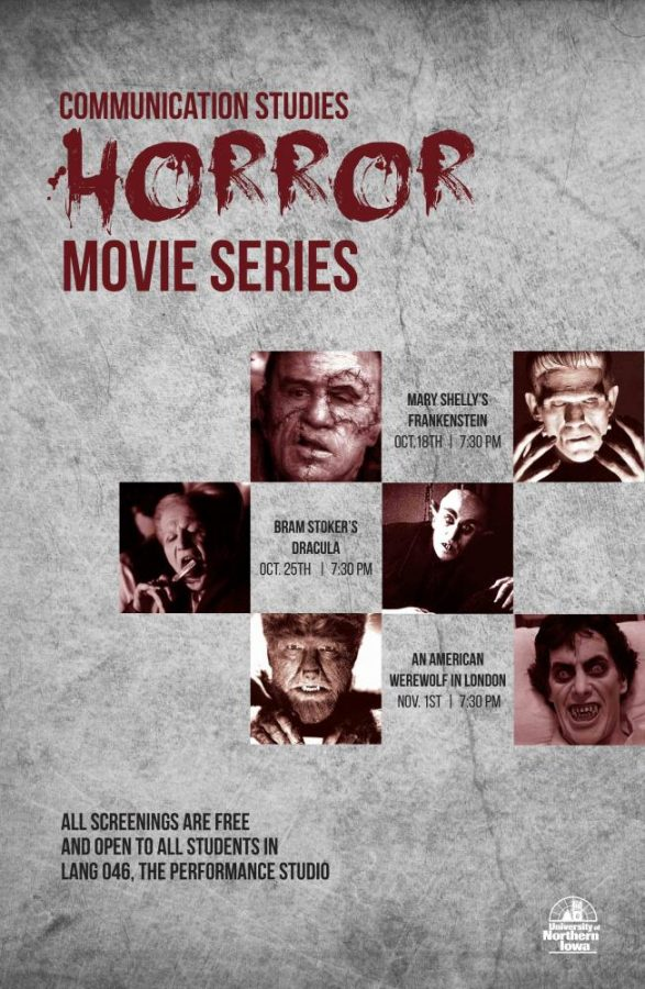 October horror film series