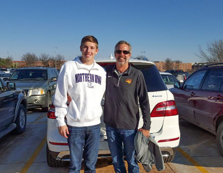 Like father, like son: a tradition continues