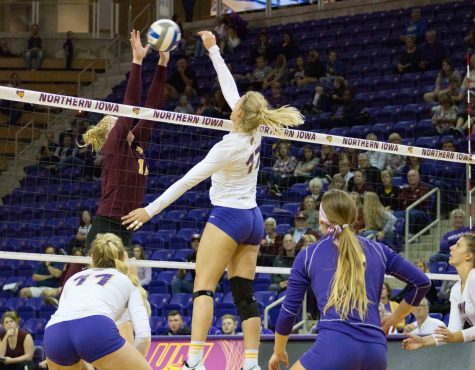 Season sweep against Drake Bulldogs