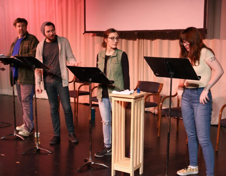 The UNI Interpreters Theatre performed