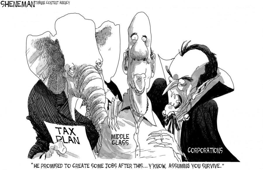 Steve+Corbin%2C+professor+emeritus+of+marketing%2C+pens+a+letter+to+the+editor+criticizing+the+Republican+party%27s+proposed+tax+plan.