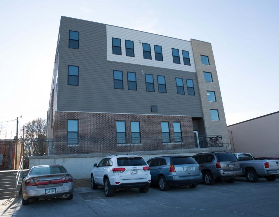 The College Hill has seen many changes, including Urban Flats, a new apartment building near University Book & Supply.