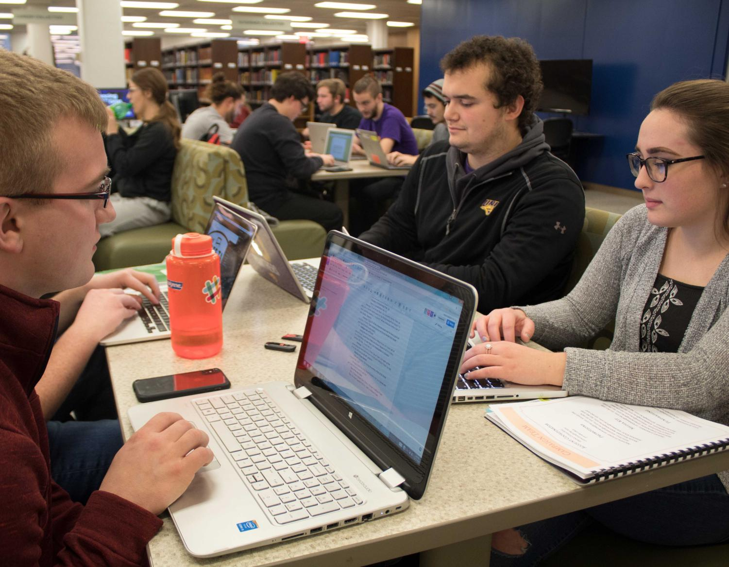 There are numerous resources available to aid students studying on campus during finals week.