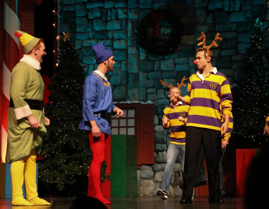 This year the UNI Men's Varsity Glee Club's 40th annual Christmas Variety Show play was titled