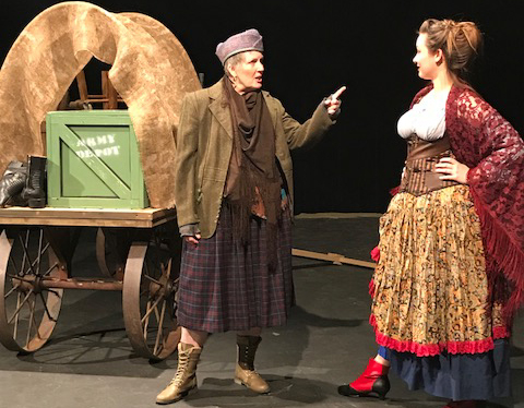 Triumphant 'Mother Courage' play