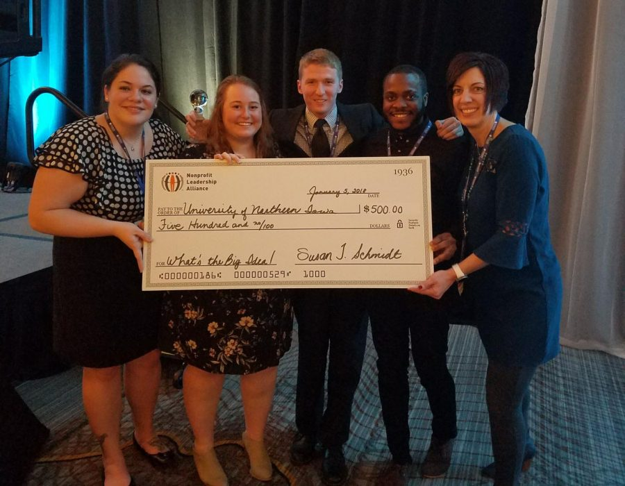 The UNI Nonprofit Leadership Alliance was received the