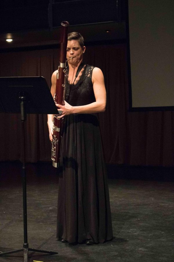 The UNI School of Music presented a recital of the pieces