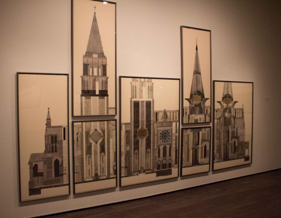 This+is+the+first+drawing+in+professor+and+artist+Mary+Griep%27s+Anastylosis+Project.+It+is+titled+%22Facade-+Chartres+Cathedral%2C+France.%22
