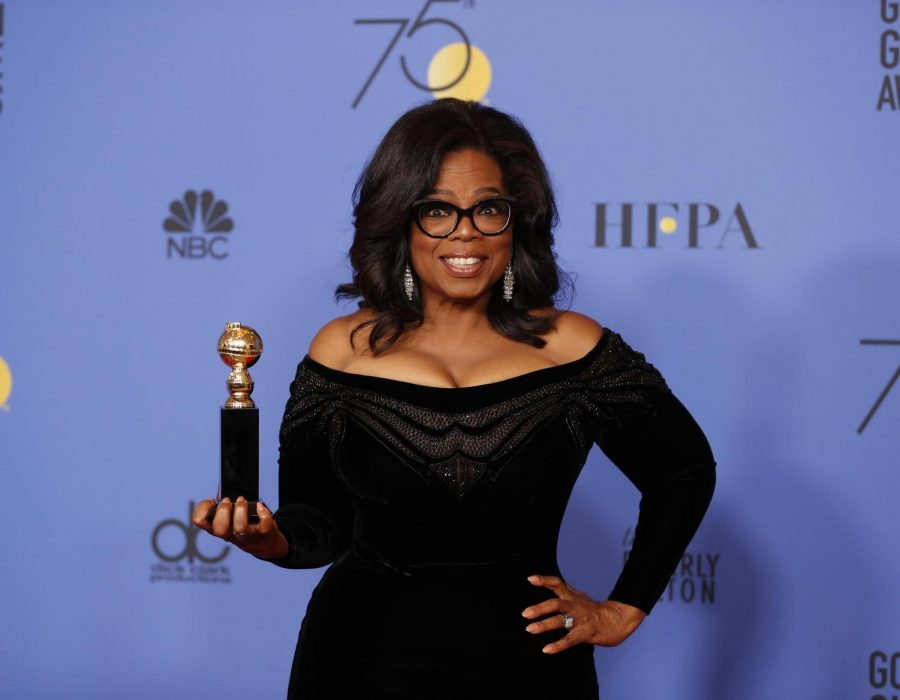 Opinion+columnist+Cristian+Ortiz+recaps+Sunday%27s+Golden+Globe+Awards+ceremony%2C+where+Oprah+Winfrey+became+the+first+black+woman+to+be+awarded+the+Cecil+B.+DeMille+Award.