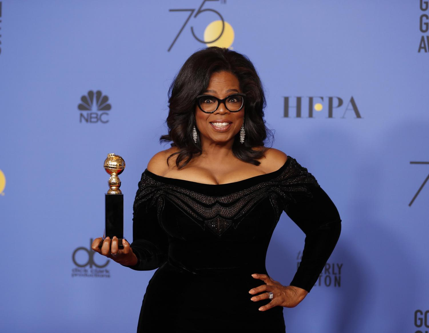Opinion columnist Cristian Ortiz recaps Sunday's Golden Globe Awards ceremony, where Oprah Winfrey became the first black woman to be awarded the Cecil B. DeMille Award.