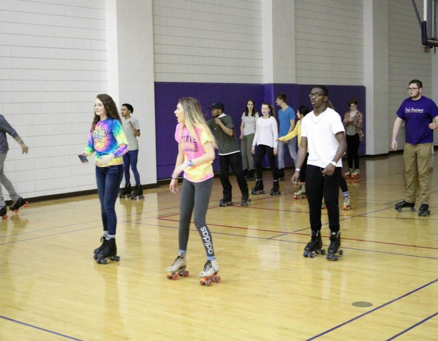 Panther Portrait: Black History Month '70s Skate Party