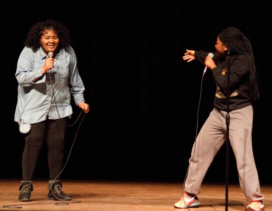 Panther Portrait: Black History Month Lip Sync Battle