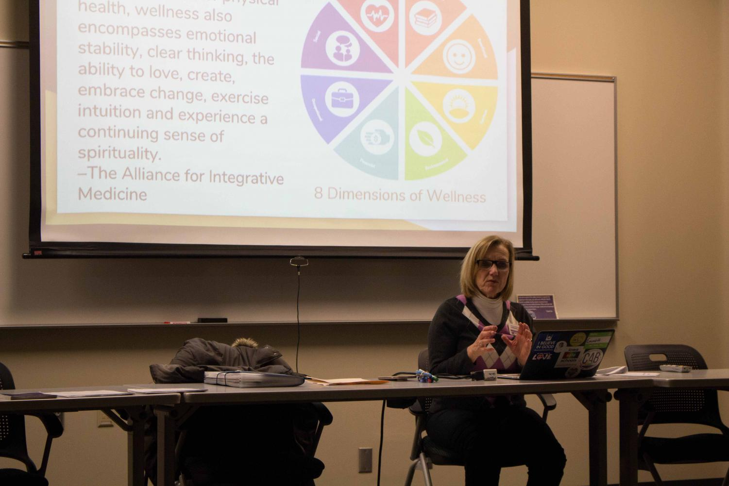 The UNI Student Wellness Service presented information on what makes relationships healthy and to recognize abuse on Tuesday, Feb. 14.