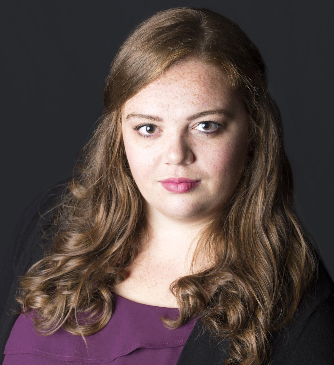 Leia Lensing is a graduate student who took first in the Concert of Arias on Feb. 2.