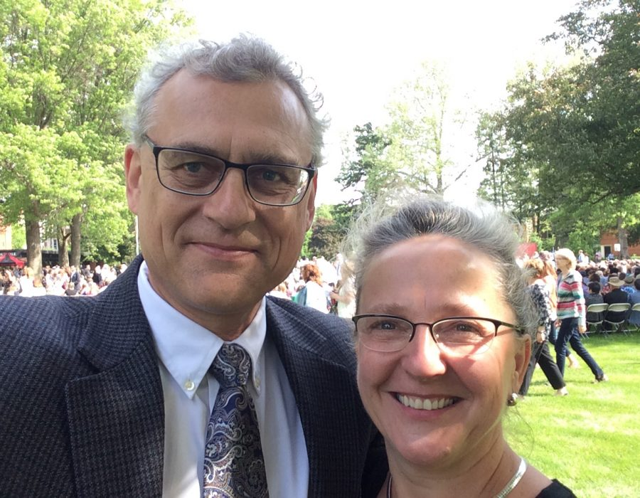 On Feb. 5, professors Konrad Sadkowski and Alicja Boruta-Sadkowski celebrated 31 years of marriage. They both work in the history department.