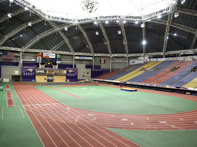 Indoor track and field season winds down