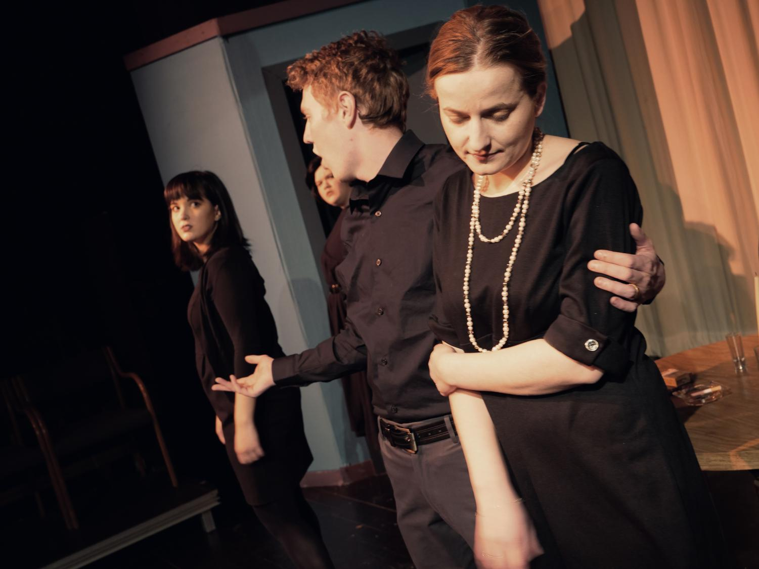 UNI communications master's student Milica Njezic wrote and directed the play,