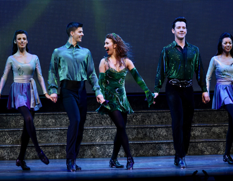 The+show+%22Riverdance%22+came+to+the+Gallagher+Bluedorn+for+three+performances+this+past+weekend.+NI+reviewer+Shelby+Welsch+said+the+dancing+was+phenomenal+throughout+the+show.