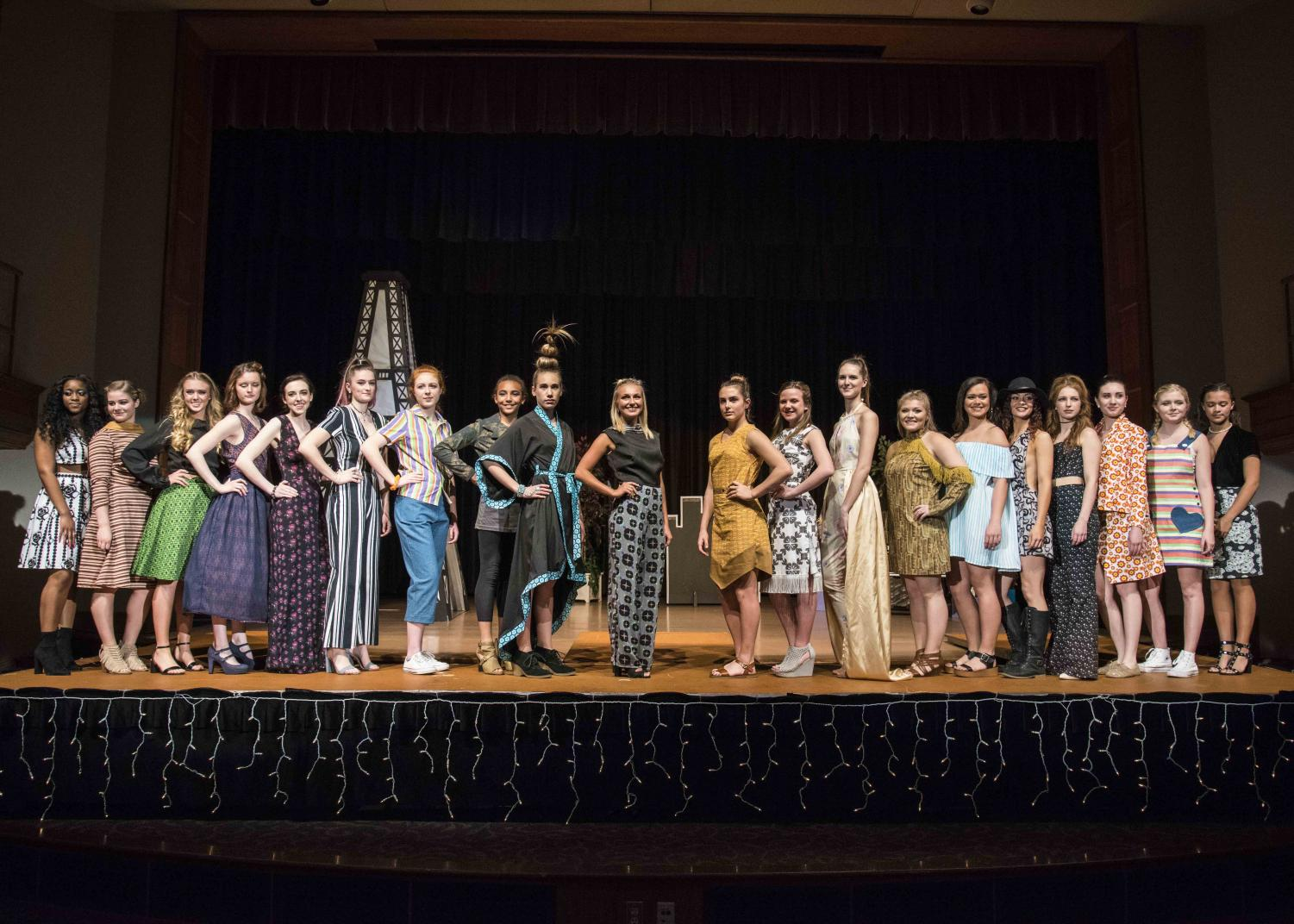 UNI's Textiles and Apparel program will be presenting their 26th annual Catwalk fashion show in Lang Hall Auditorium at 7 p.m. on Saturday, April 21.