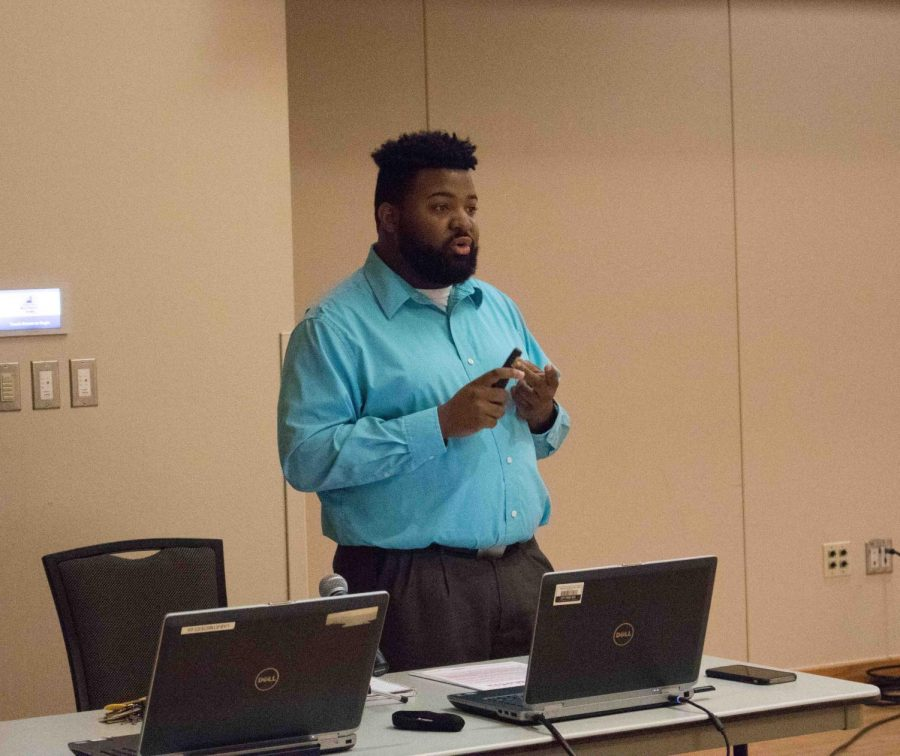 Darvel Givens, then-director of diversity for NISG, discusses where diversity and inclusion are on campus and where they are headed in the future.