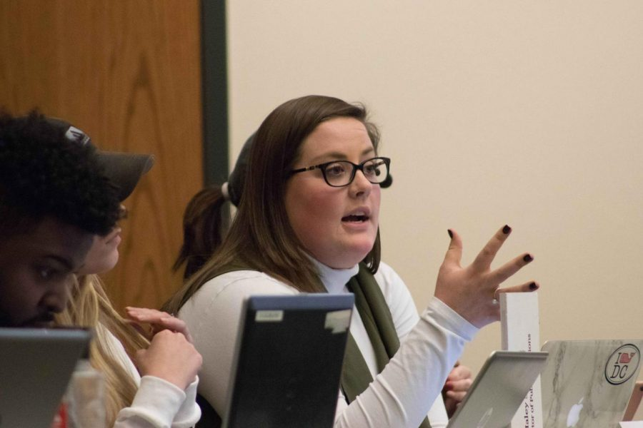 Now former Northern Iowa Student Government (NISG) Director of Governmental Relations Maggie Miller was voted out of office on April 4, with a vote of 15-2.