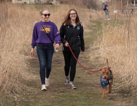 Tails on Trails brings dogs to campus