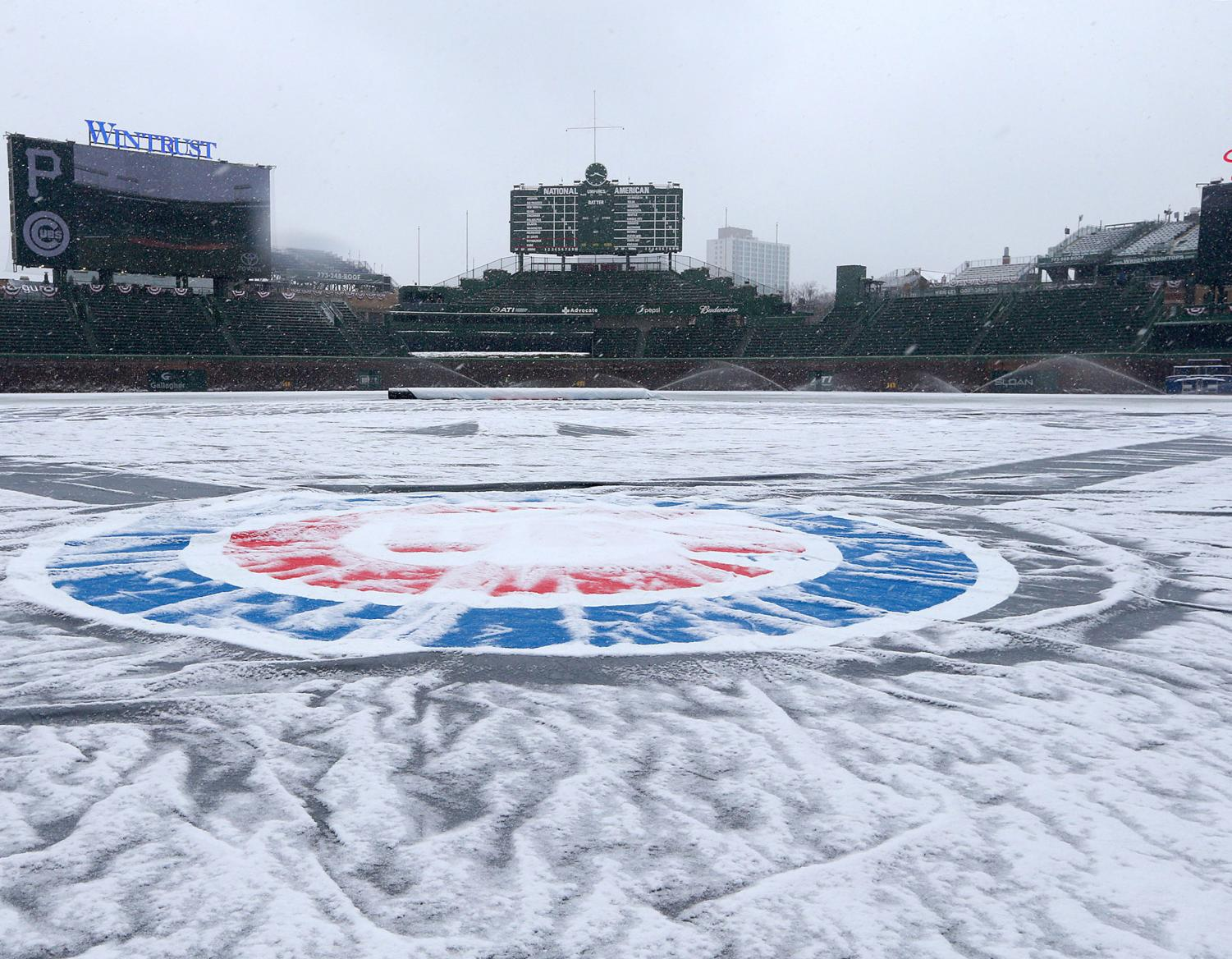 Late winter weather in the Midwest has forced several games to be postponed to later dates in the season. With the high number of rescheduled games, it raises the question, do we play too much baseball?