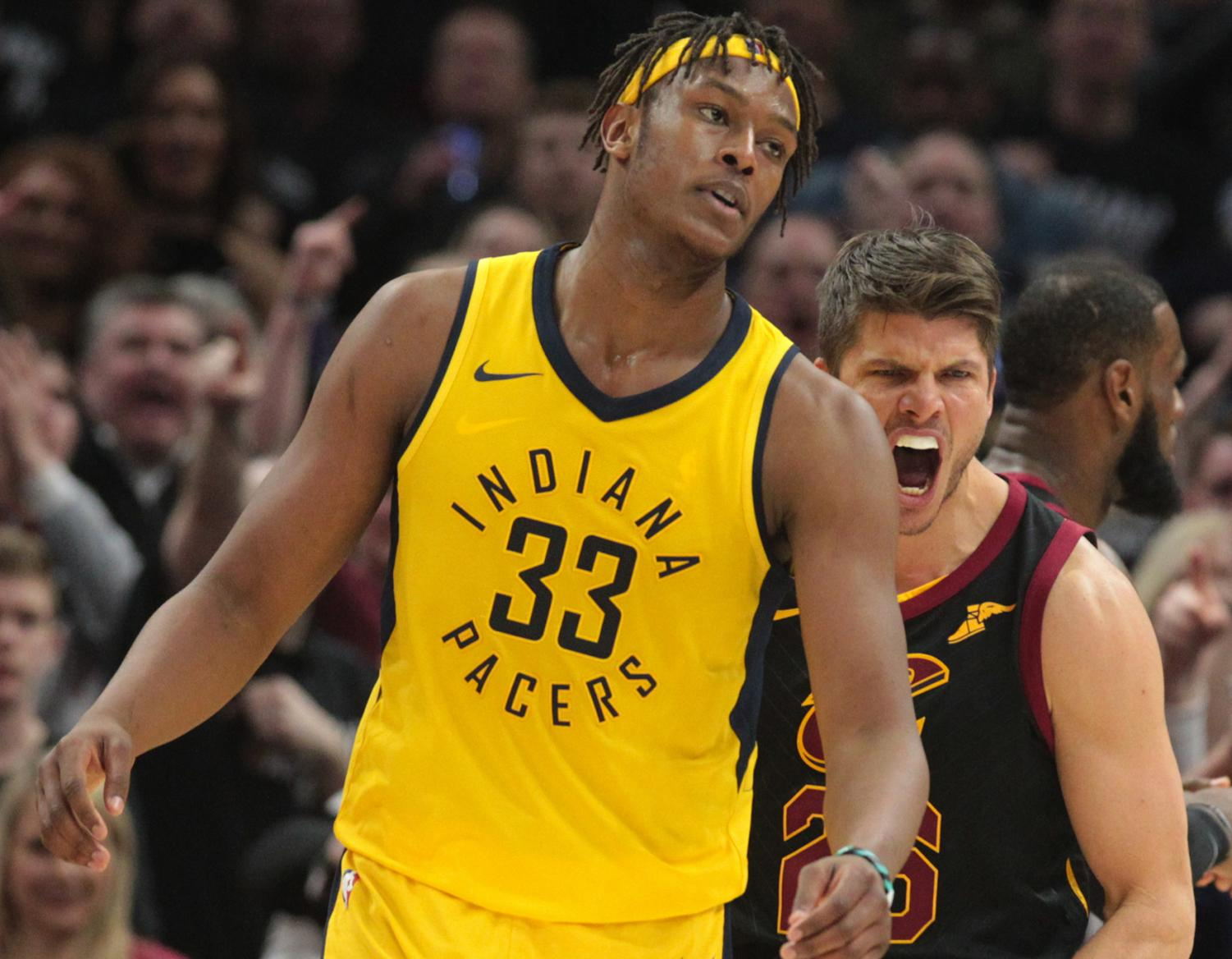 Cleveland and Indiana are locked in a first round playoff matchup with major implications to the balance of power in the conference at stake.