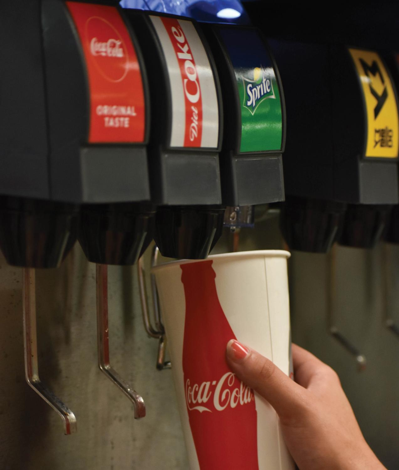 Over the summer, UNI switched from serving Pepsi products on campus to Coca Cola products.