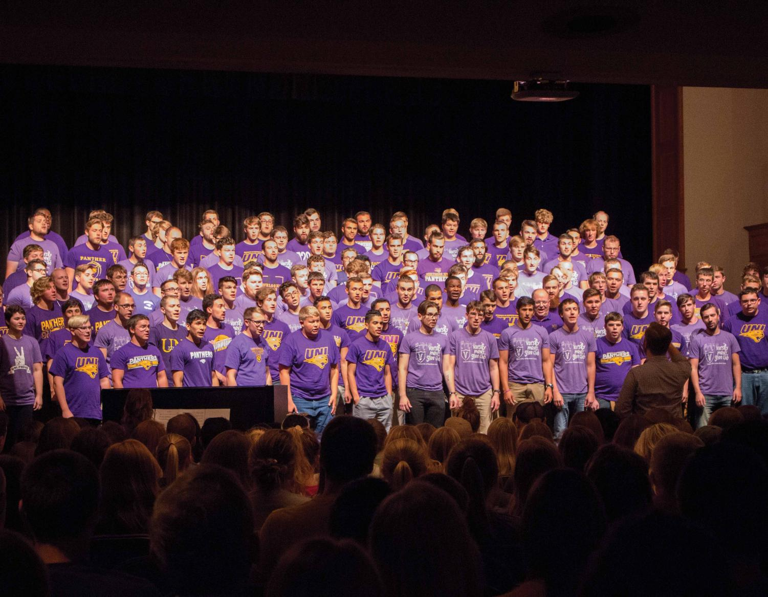The UNI Varsity Men's Glee Club will be holding their fourth annual Welcome Home concert in Lang Hall Auditorium on Friday, Aug. 24 at 6 P.M.