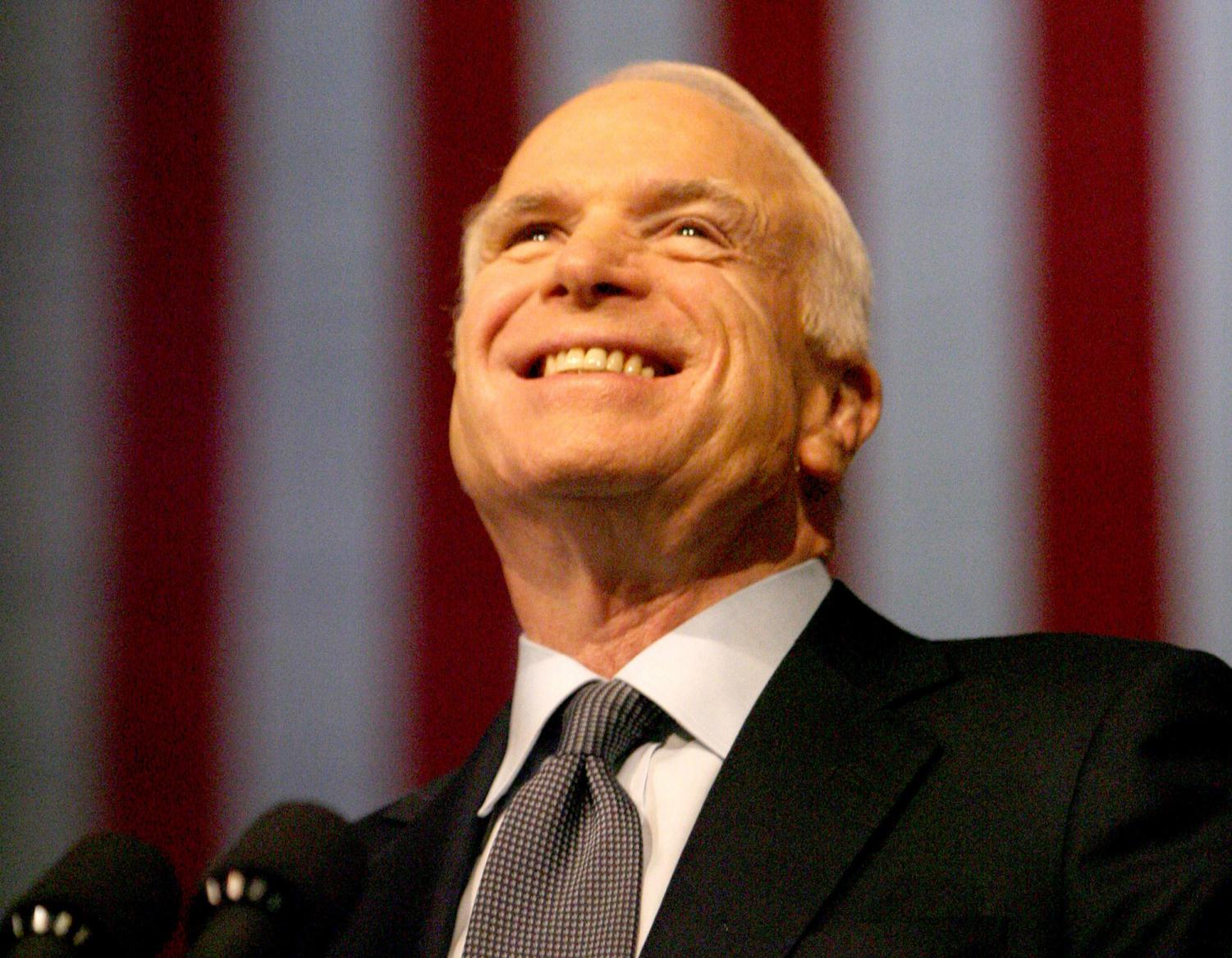 Opinion columnist Albie Nicol honors Senator John McCain, admiring his dignity, patriotism and willingness to cross party lines for what he believed in.