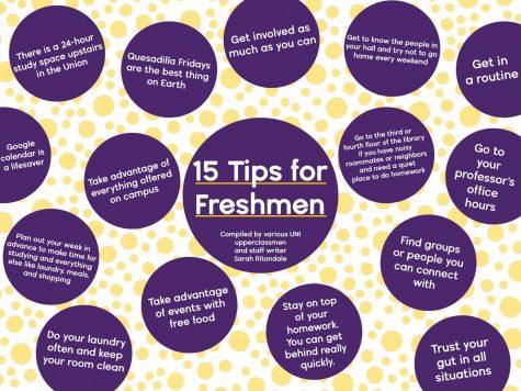 15 Tips for Freshmen