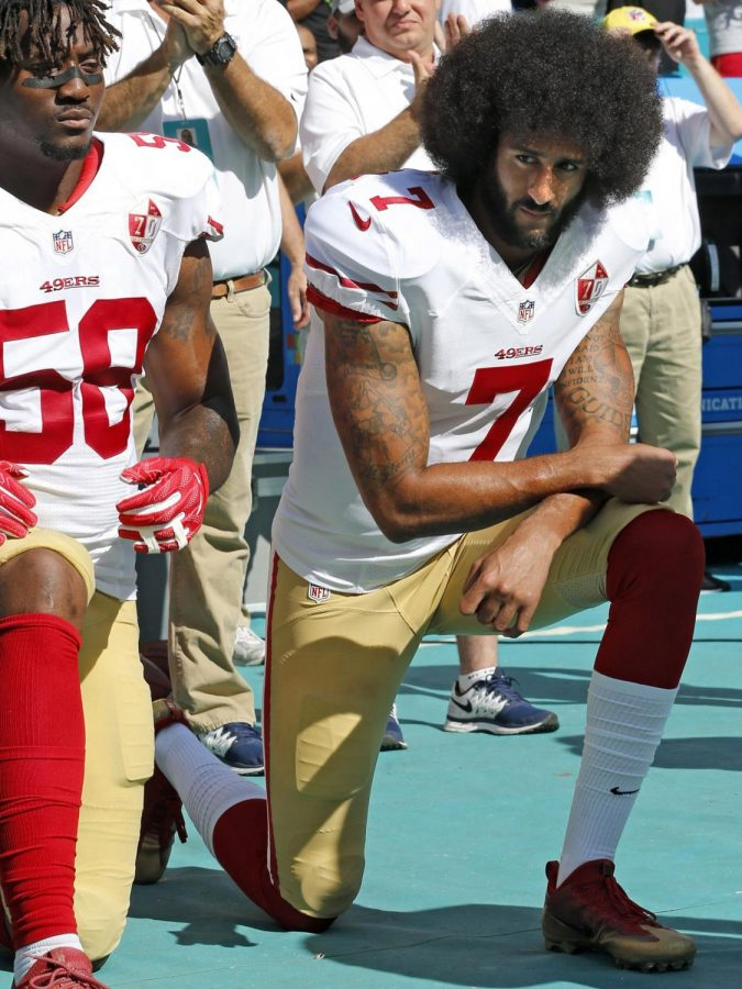 Sports+editor+Joel+Wauters+writes+about+Nike+endorsing+former+San+Francisco+49ers+player+Colin+Kaepernick+and+the+controversy+surrounding+it.