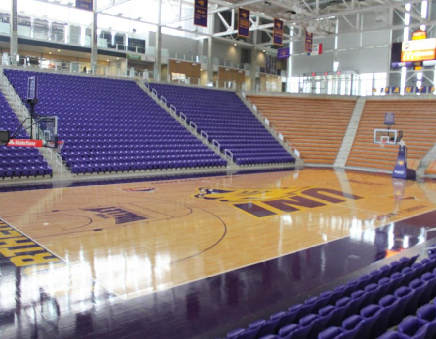 Panthers Rising is already underway as the McLeod Center received a new court and several new banners.